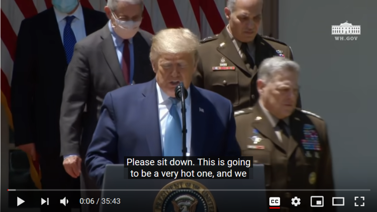 Milley Chief Staff photo with Perna Trump Fauci.png
